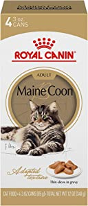 Royal Canin Maine Coon Breed Thin Slices in Gravy Adult Wet Cat Food Multipack