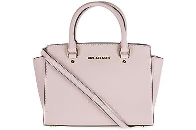 a03e39030b80 Michael Kors 30S3GLMS2L Women s Selma Top-Handle Bag Pink (Blossom ...