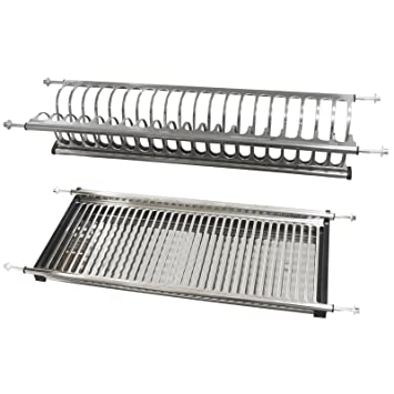 Amazon Com Probrico Stainless Steel Dish Drying Rack For The