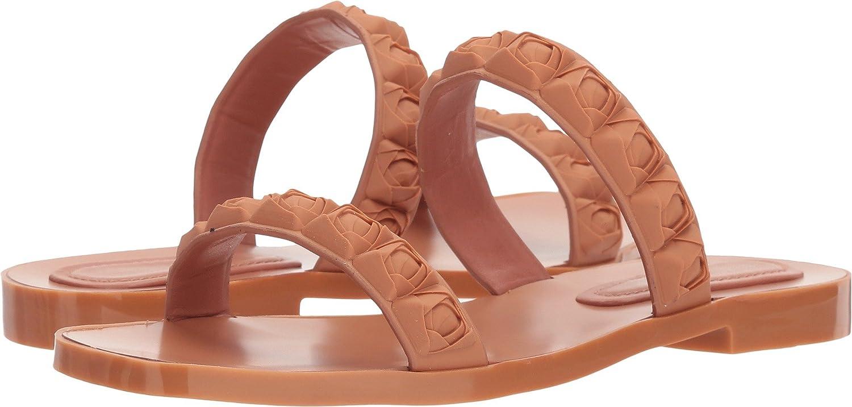 Stuart Weitzman Women's Rosita Slide Sandal B077MG5JW1 5 B(M) US|Ballet Taupe