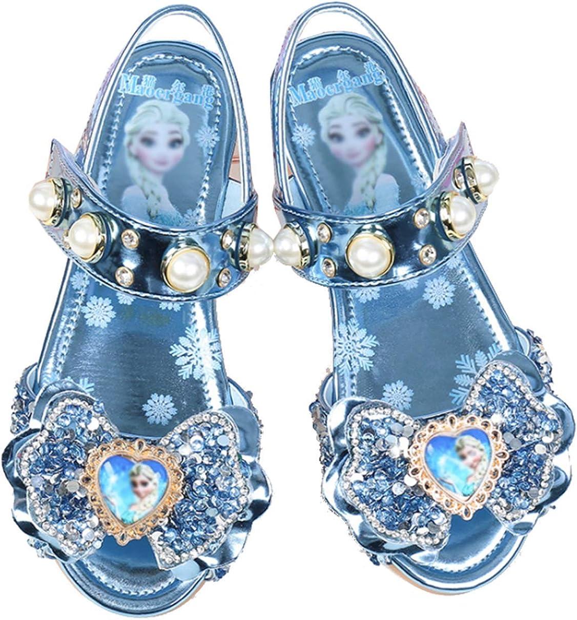 Flamedre Kinder M/ädchen Perle Pailletten Strass Prinzessin Schuhe einzelne Schuhe kleine Schuhe Kristall Schuhe Sandalen Perle Kristall Bling Bowknot Single Princess Schuhe Sandalen