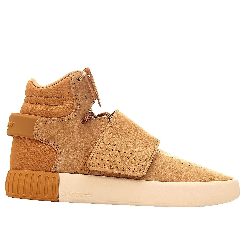 adidas Originals Kids' Tubular Invader Strap J Sneaker TUBULAR INVADER STRAP J - K