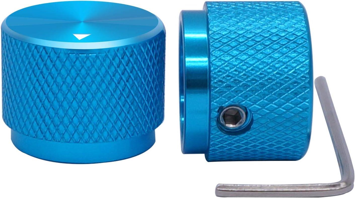 10 Pcs Potentiometer Knob Rotary Control Turning Bakelite Knob Hole Dia 6mmN*ss