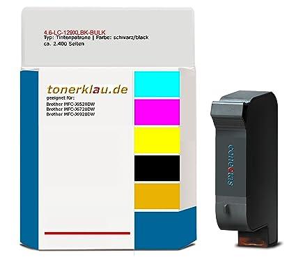 compatible Cartucho de tinta de 4.6 LC-129 X LBK de Bulk para ...