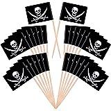 40 Fournis Generic Pics de Drapeaux De Cocktails ~ Pirate