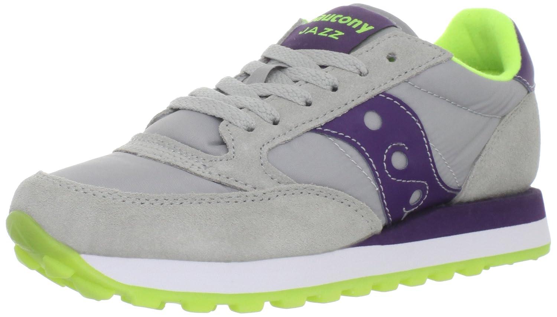 Saucony Originals Women's Jazz Original Sneaker B0058XPY1Y 6.5 B(M) US|Grey/Purple