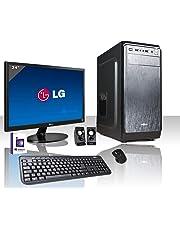 """PC DESKTOP INTEL QUAD CORE LICENZA WINDOWS 10 PROFESSIONAL ORIGINALE/WIFI/HD 1TB SATA III/RAM 8GB 2400MHZ,AUDIO, VIDEO/MONITOR 24"""" LED FULL HD HDMI VGA DVI /TASTIERA E MOUSE USB/PC FISSO COMPLETO"""
