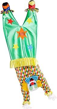 Disfraz de payaso al revés - Estándar: Amazon.es: Juguetes y juegos