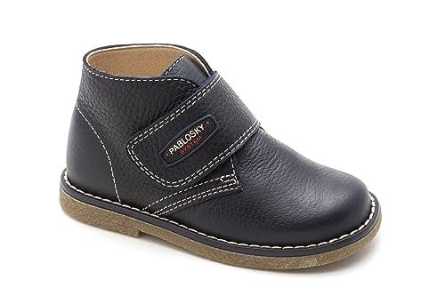PABLOSKY 568624 - Botines Chukka Velcro Infantiles: Amazon.es: Zapatos y complementos