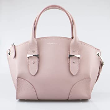 8380a6242a Amazon.com  ALEXANDER McQUEEN Pink Patchouli Small Legend Leather Tote  Handbag  Baby