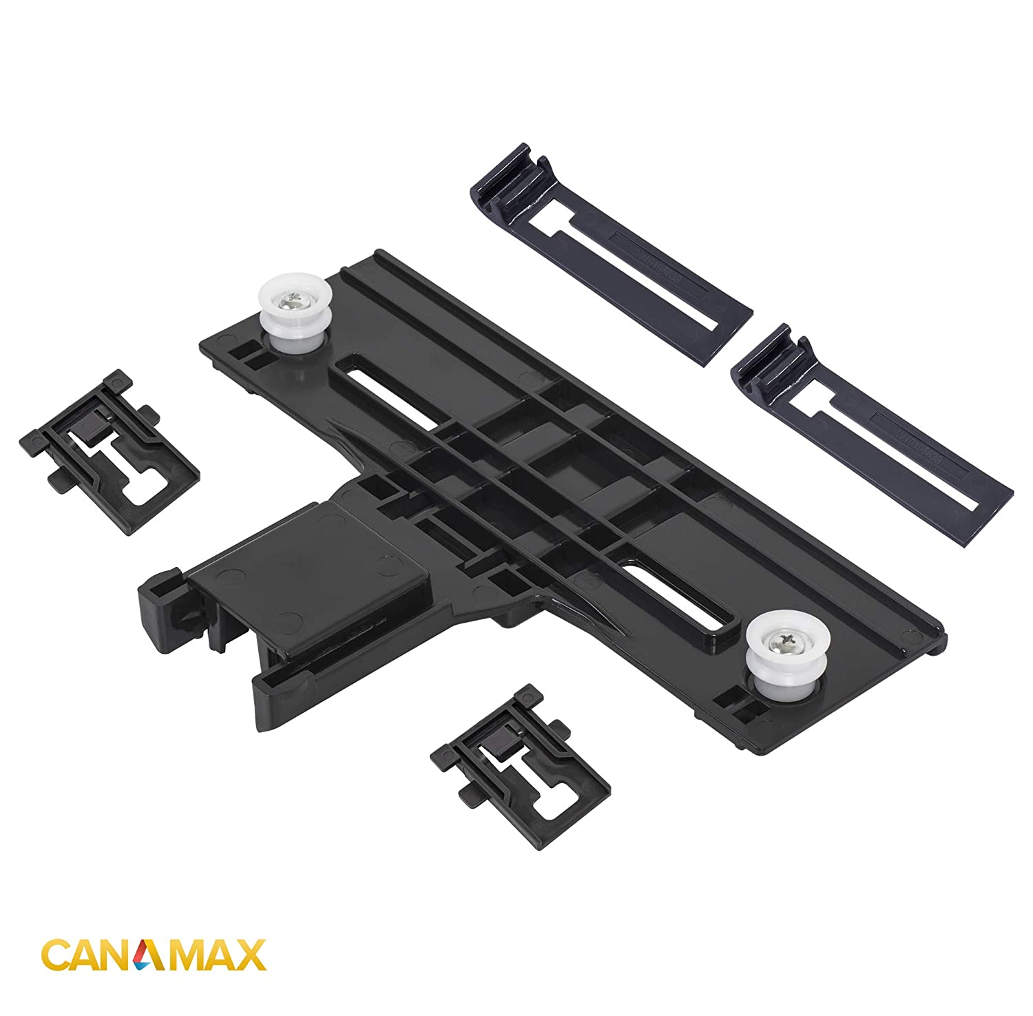 W10350376 /& W10195840 /& W10195839 Dishwasher Rack Adjuster Kit Premium Replacement Part by Canamax WPW10350376 Replaces W10418323 Compatible with Kenmore /& KitchenAid Dishwashers W10712394