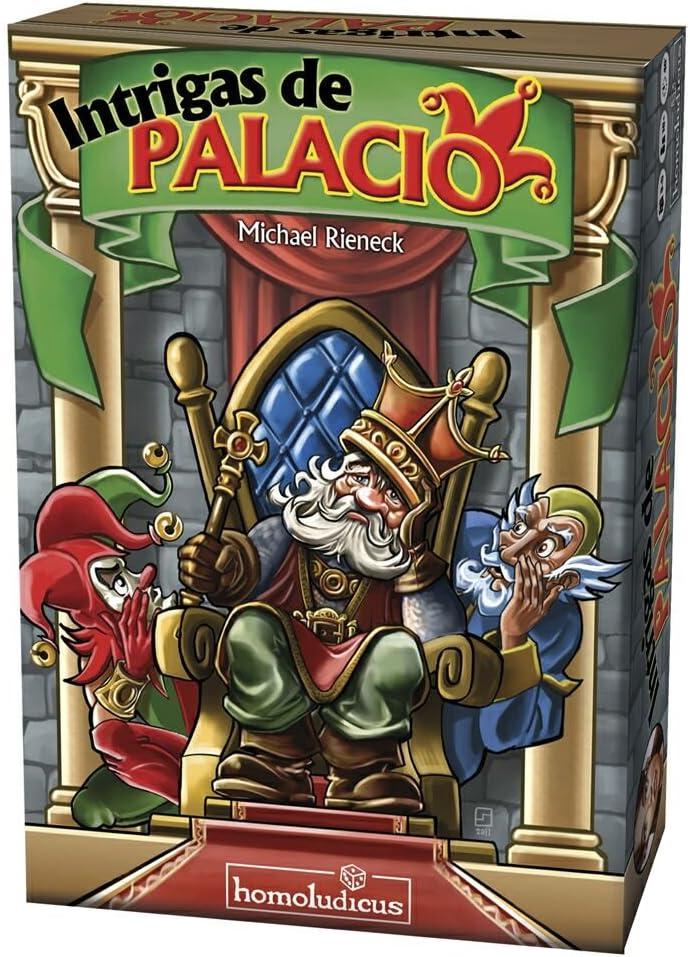 Devir - Intrigas de Palacio (HLPALACIO): Amazon.es: Juguetes y juegos