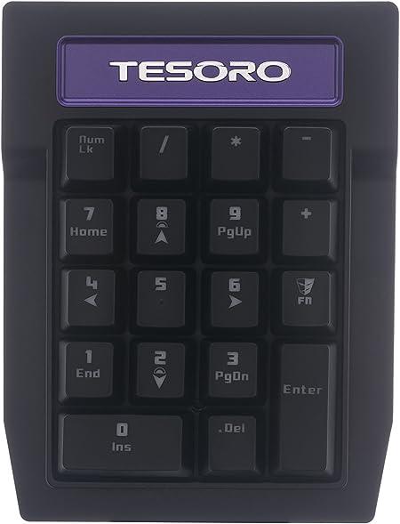 Tesoro Tizona - Teclado numérico, Color marrón