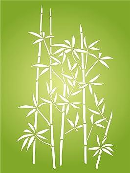 Bambou Pochoir U2013 Muraux Réutilisables Pochoirs Pour Peinture U2013 Meilleure  Qualité De Décoration Murale Décor Idées