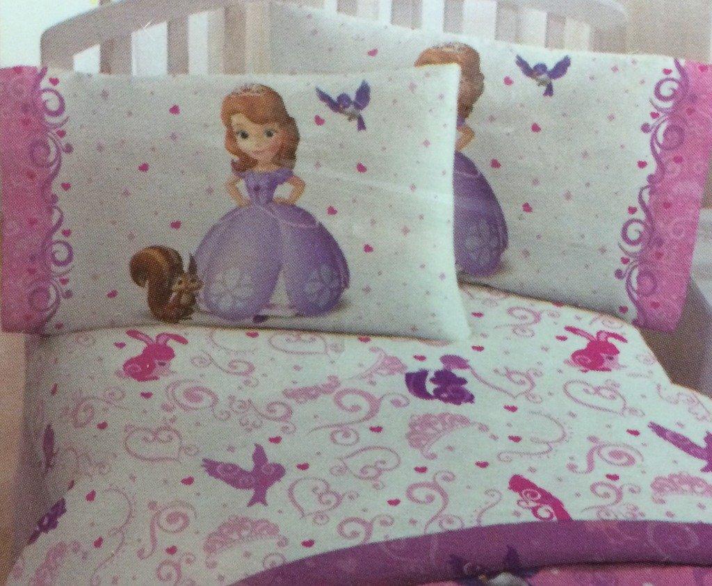 Disney Junior Sofia The 1st Sweet Princess Sheet Set, Twin