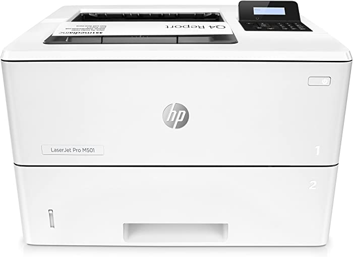 HP Laserjet Pro M501dn Duplex Printer with One-Year, Next-Business Day, Onsite Warranty (J8H61A)