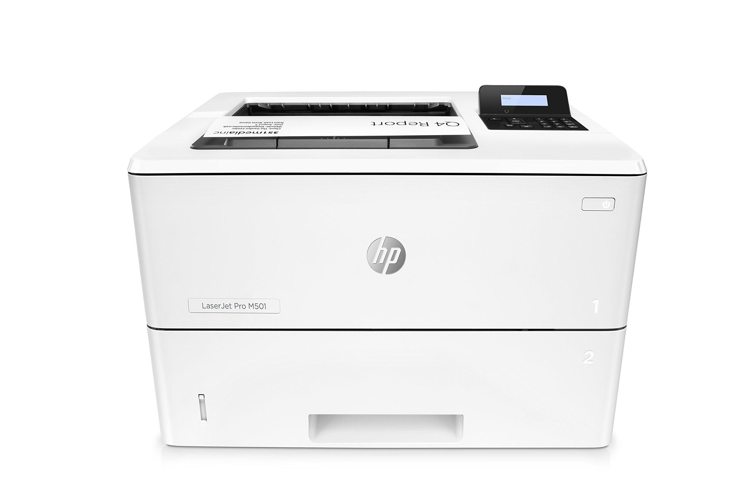 HP Monochrome LaserJet Pro M501dn w/ HP JetAdvantage Security, (J8H61A#BGJ) by HP (Image #1)