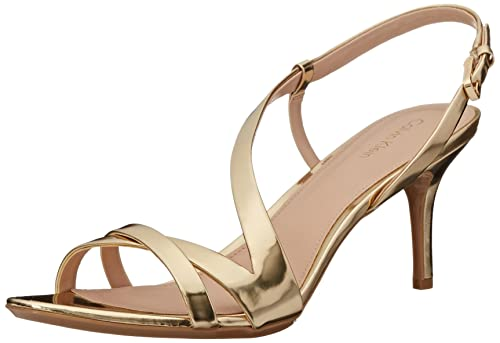 Womens Sandals Calvin Klein Lorren Warm Gold