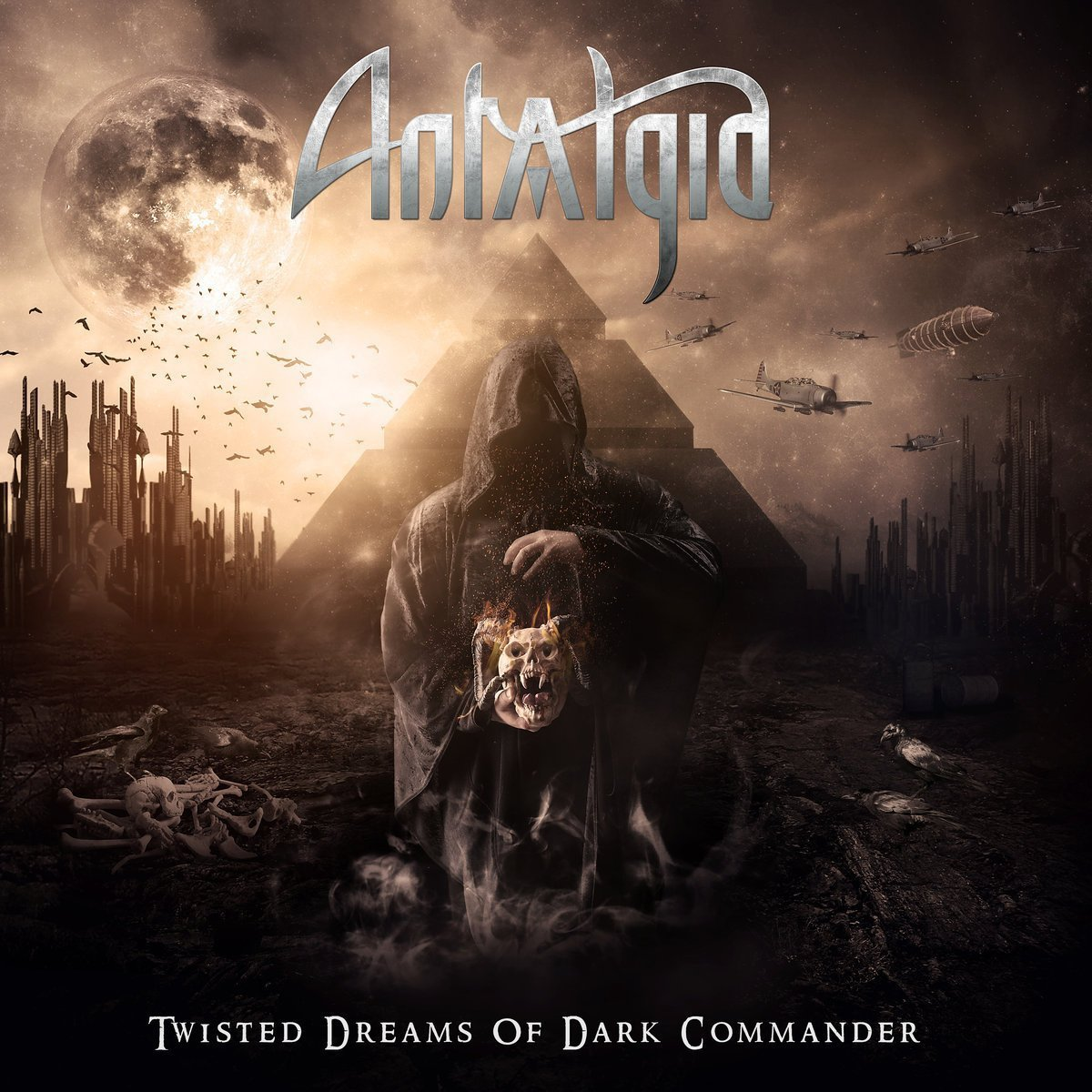 CD : Antalgia - Twisted Dreams Of Dark Commander (United Kingdom - Import)