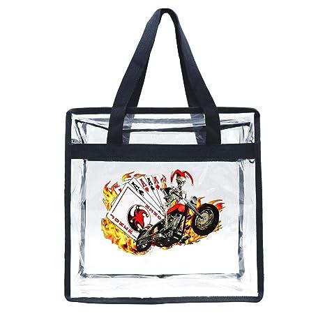 Amazon.com: Zhdashaiff - Bolsas transparentes con cordón ...