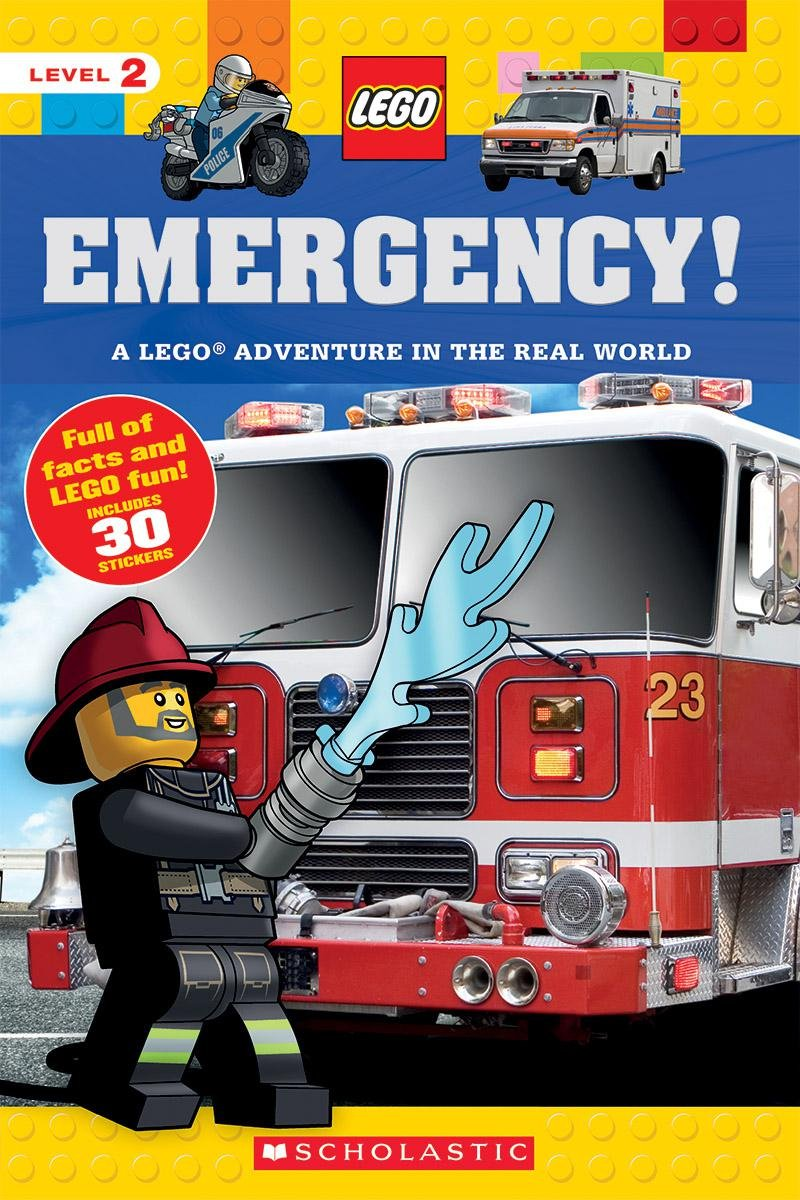 Emergency! (LEGO Nonfiction): A LEGO Adventure in the Real World pdf