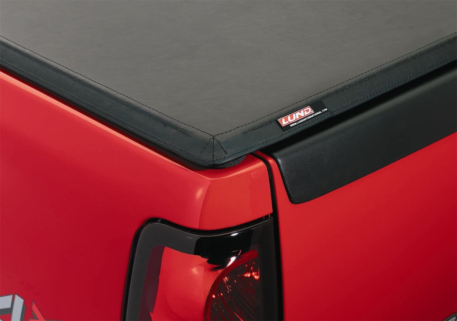 Amazon Com Lund 95016 Genesis Tri Fold Truck Bed Tonneau Cover For 1994 2001 Dodge Ram 1500 1994 2002 Ram 2500 3500 Fits 8 Bed Black Leather Look Automotive