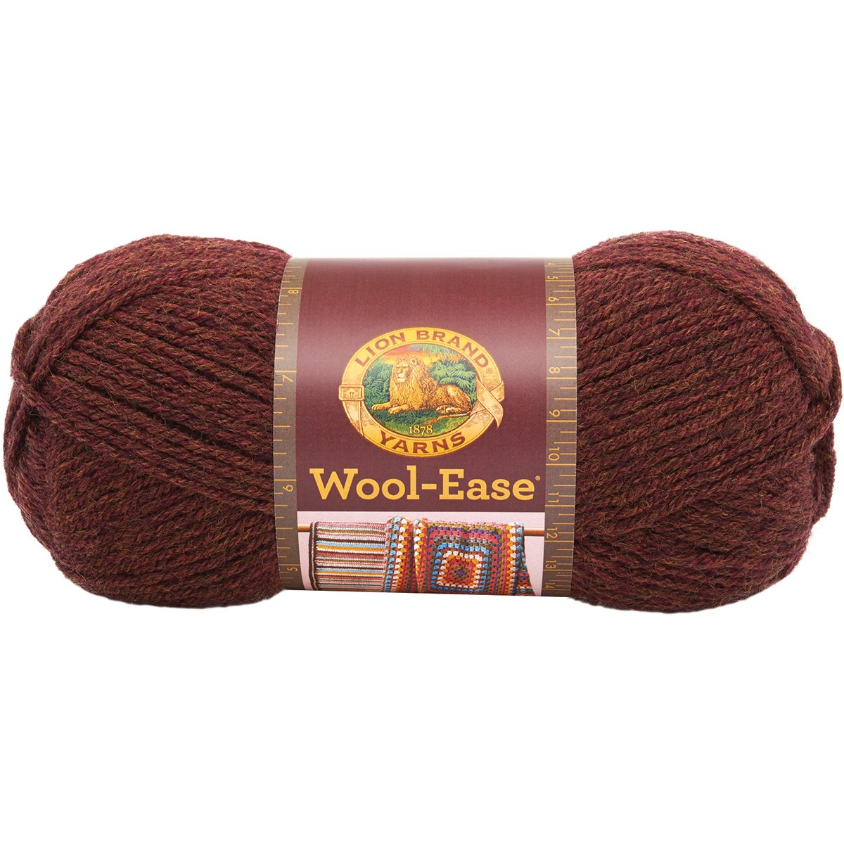 Lion Brand Yarn 620-114B Wool-Ease Yarn, Denim