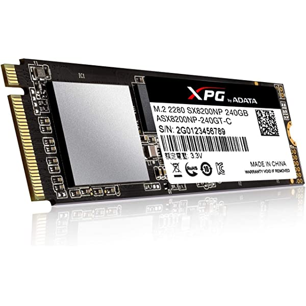 XPG SX8200 Unidad de Estado sólido M.2 240 GB PCI Express 3.0 3D ...