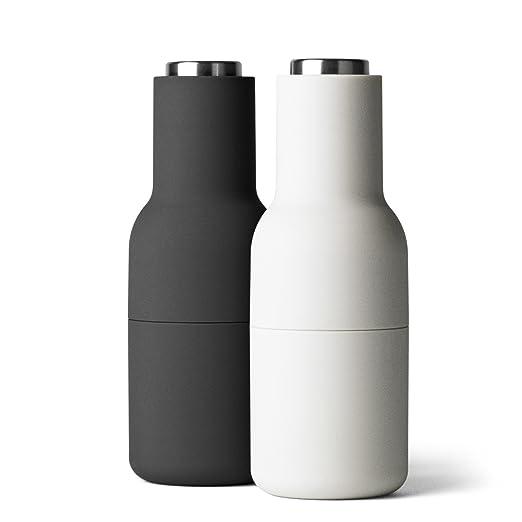 10 opinioni per Menu 4418599 Bottle Grinder- Macina pepe e sale in acciaio inox, piccolo, 2