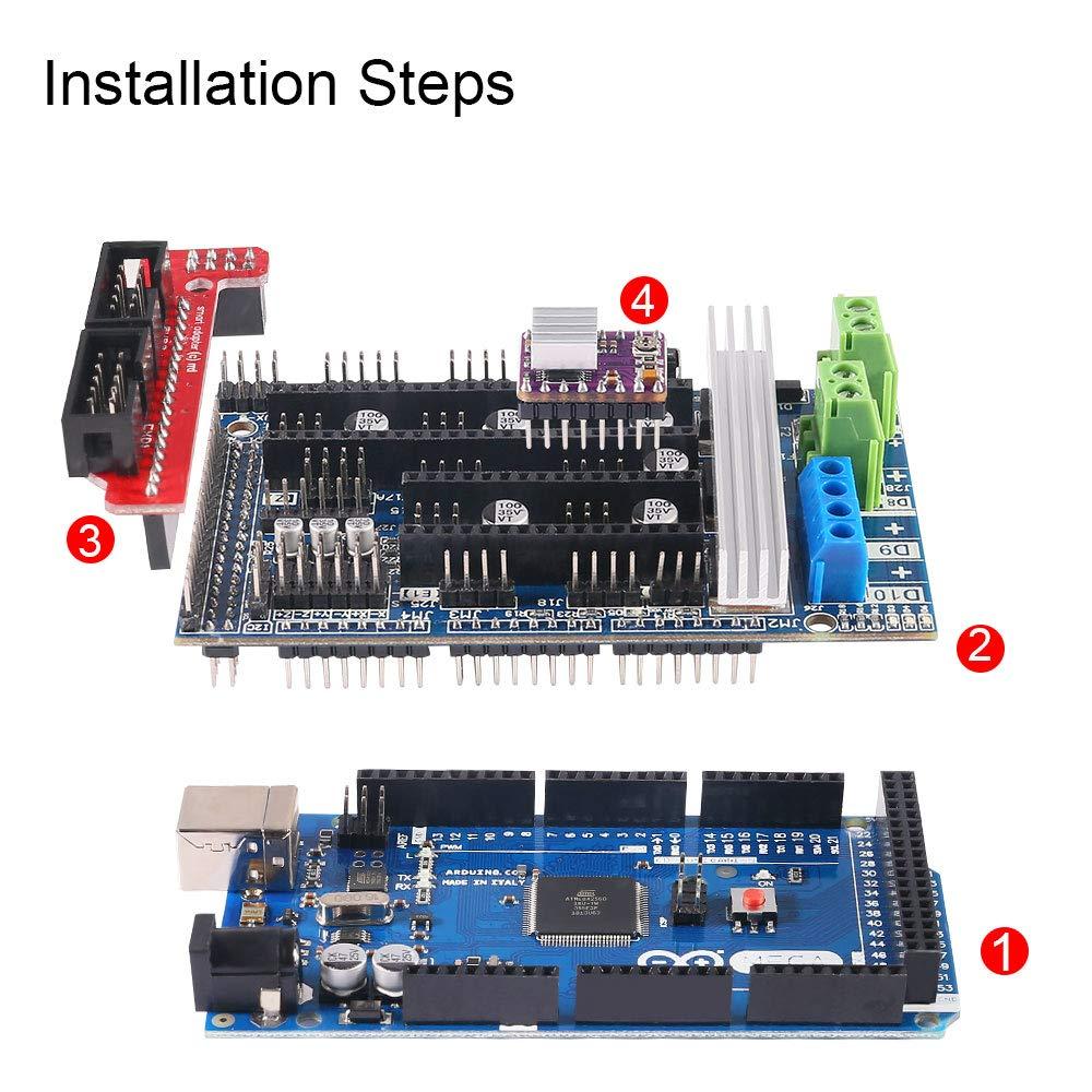3D Printer Controller Kit for Arduino, Mega 2560 Uno R3 Starter Kits