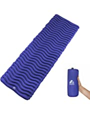 Unigear Ultralight Inflatable Sleeping Pad, Compact Air Camping Mat for Backpacking, Hiking and Traveling