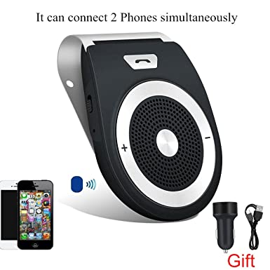 Review Bluetooth Car Speaker, Handsfree
