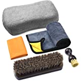 Leather Cleaning and Care Tool Kit, Used with Leather Seat Cleaner and Conditioner for Vinyl and Leather Car Interior, Seats,