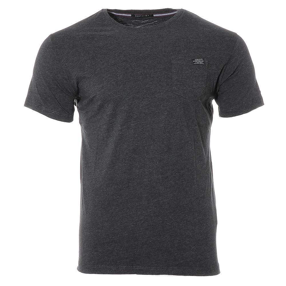 2da203c7b8b Sun Valley Furrac Homme Tee-Shirt Noir  Amazon.fr  Vêtements et accessoires