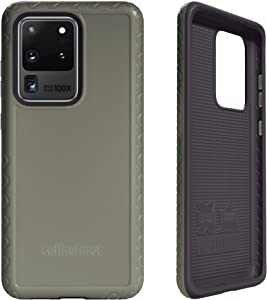 cellhelmet Fortitude Series ODG/Olive Drab Green/Tactical Green Dual Layer Phone Case for Samsung Galaxy S20 Ultra | As Seen on Shark Tank | in Retail Package