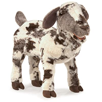 Folkmanis Screaming Goat Hand Puppet: Toys & Games