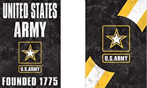 WinCraft United States Army, Founded 1775 Officially, Licensed Vintage Distressed Edition Garden Flag, 12.5 x 18 Inches
