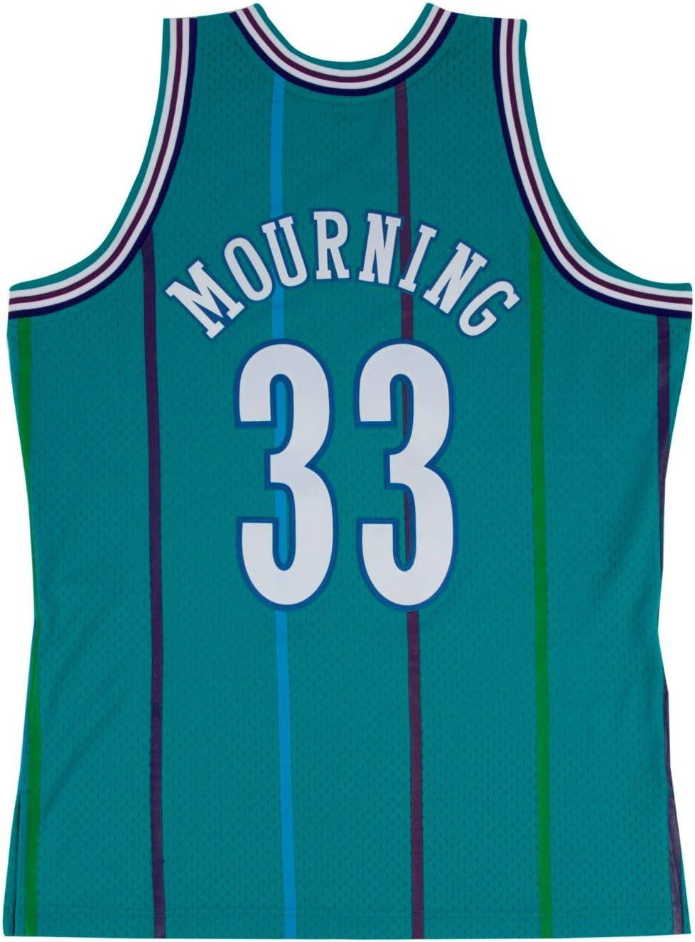 Mitchell /& Ness Alonzo Mourning Charlotte Hornets Swingman 1992-1993 Jersey
