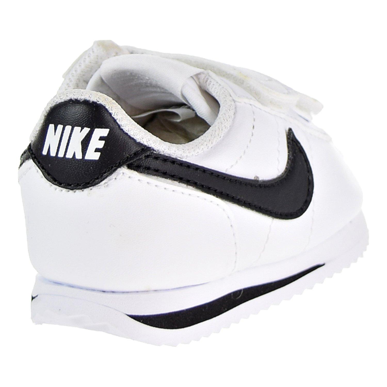 d02dc9ce6dc47b NIKE Cortez Basic SL Toddler s Shoes White Black 904769-102 - The ...