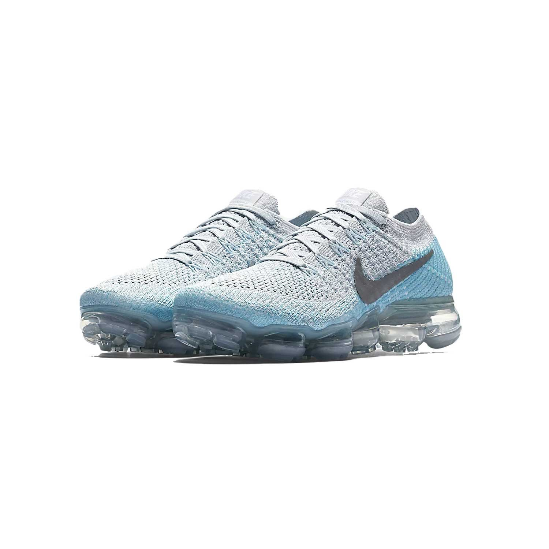 NIKE Women's Air Vapormax Flyknit Running Shoes B0774VJ52V 8.5 B(M) US|Blue