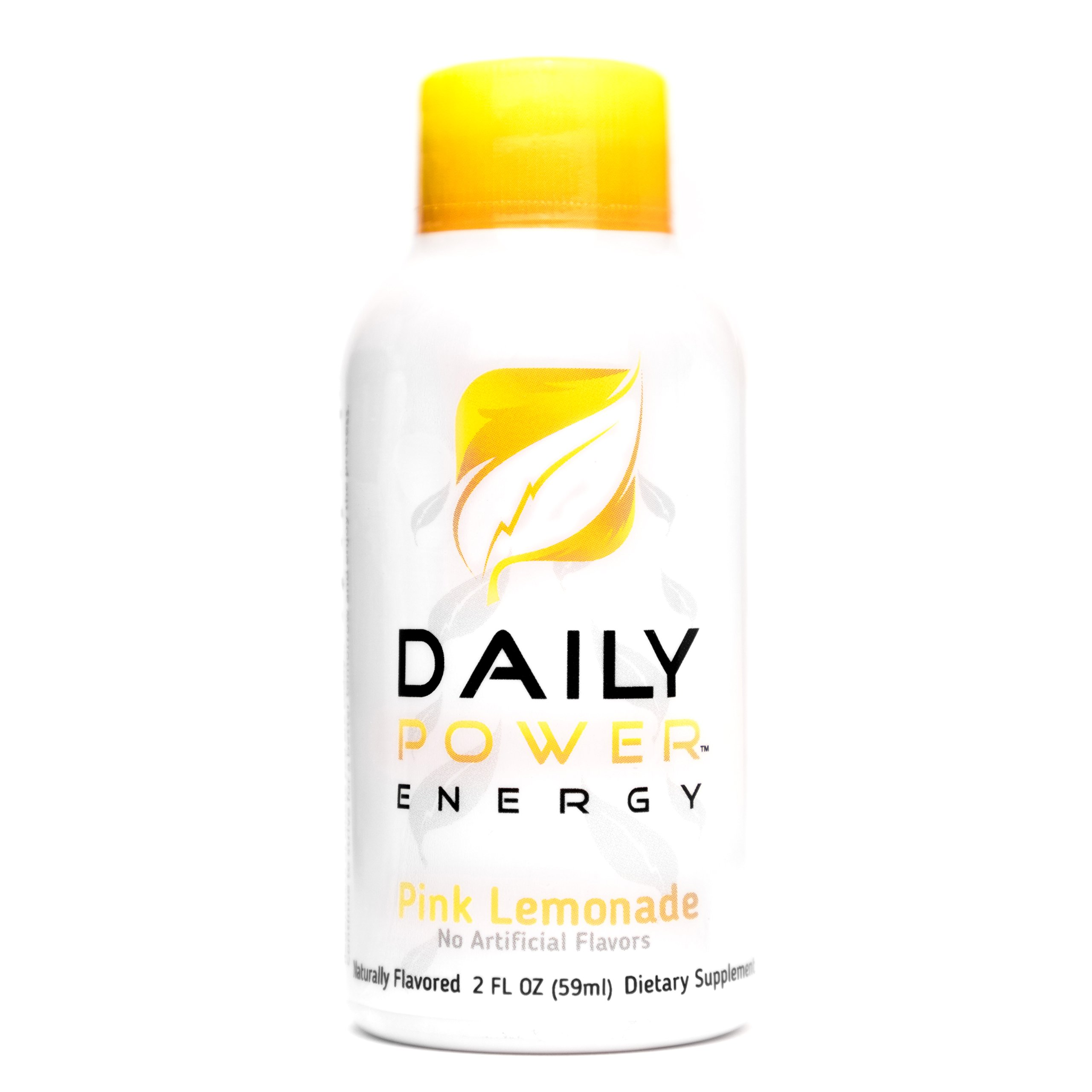 DailyPower Energy Shot - 220mg of Natural Caffeine - 12 Count (Pink Lemonade) by DailyPower