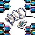 LED Light Strip Bar USB 2M 12V Bias Backlight RGB Light with Remote Control IP65 Waterproof, 50cm*4 Strips for TV Screen Laptop Desktop, Better Atmosphere and Reduce Eyestrain - InnoBeta