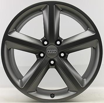 4 Original Audi 18 pulgadas Llantas 8t0601025 m 8,5 x 18 ET29 A4 8 W B9 Allroad TG: Amazon.es: Coche y moto