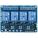 Robocraze 4-Channel Relay Module with Optocoupler RC-A-053