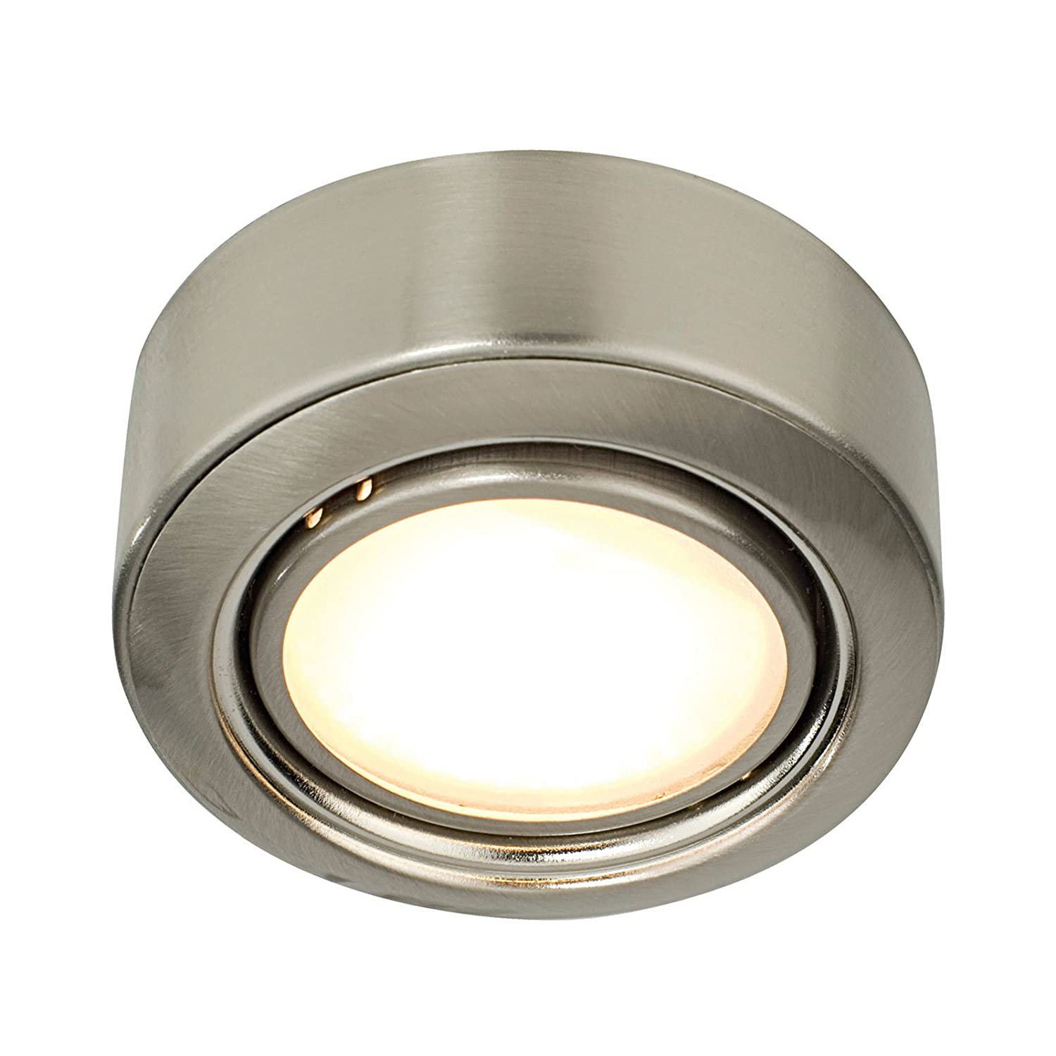 Firn Recessed Under Cabinet Light in Satin Nickel: Amazon.co.uk ...