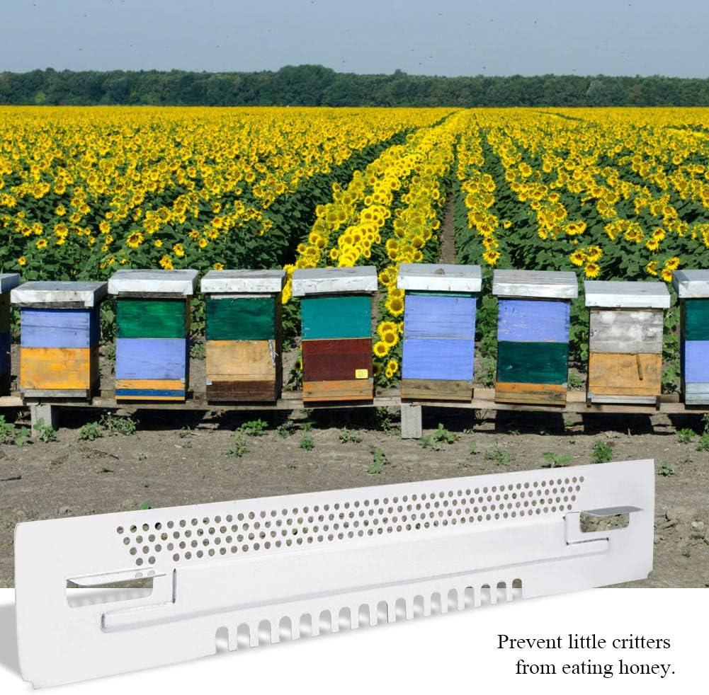 Wifehelper Beehive Sliding Mouse Guards Travel Gate Beekeeping Gadget Equipment Breeding Tool for Garden