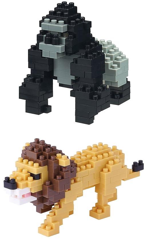 Kawada Nano Block Animals x 2