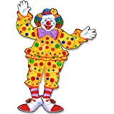 Beistle 55020 Jointed Circus Clown, 30-Inch