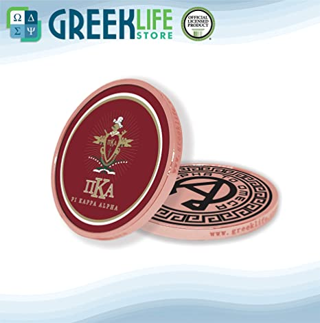 Amazon com: Pi Kappa Alpha Copper Color Small Collectible Challenge