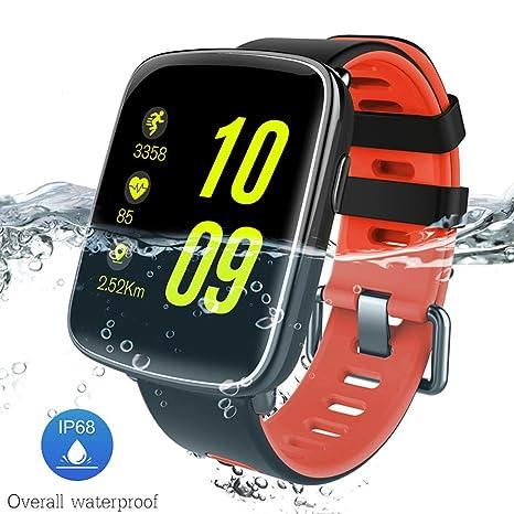 C-Xka Smartwatch, Silicona IP68 Profesional Resistente al ...